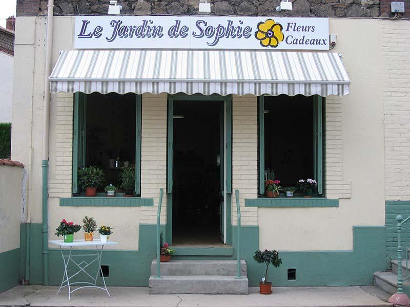 Devanture magasin de fraisses du jardin de sophie